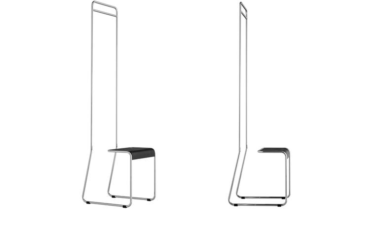 Wardrobe chair zero z design for Garderobe x3
