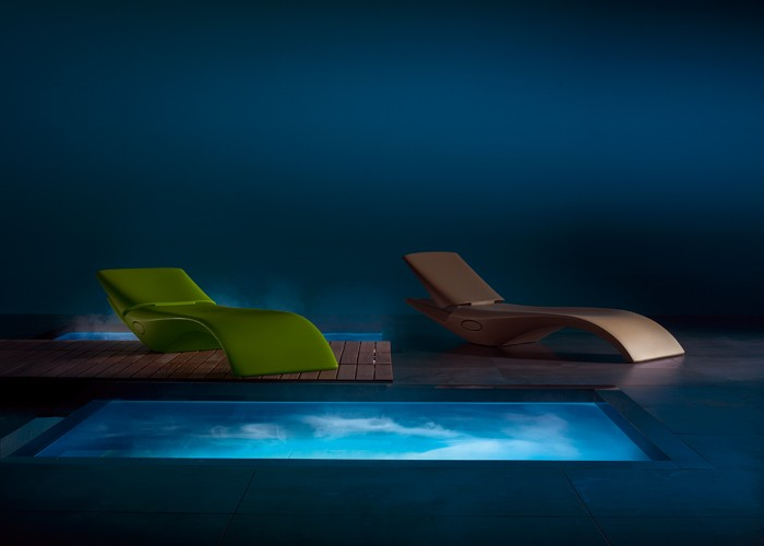 Zoe zero z design - Lettini per piscina in plastica ...